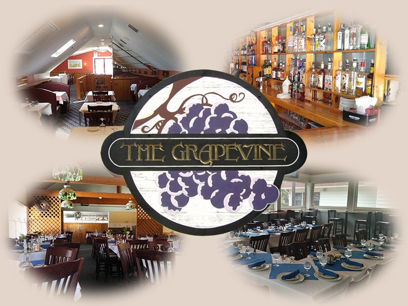collage-Grapevine The Grapevine Restaurant in Tuckerton