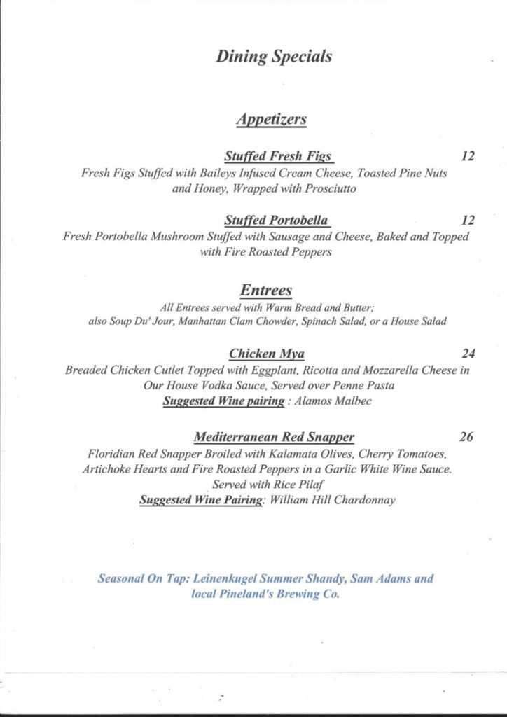 8-11-724x1024 Weekly Dinner Specials