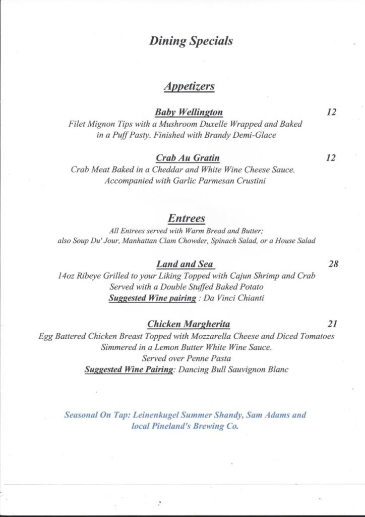 9-15-724x1024 The Grapevine Restaurant in Tuckerton