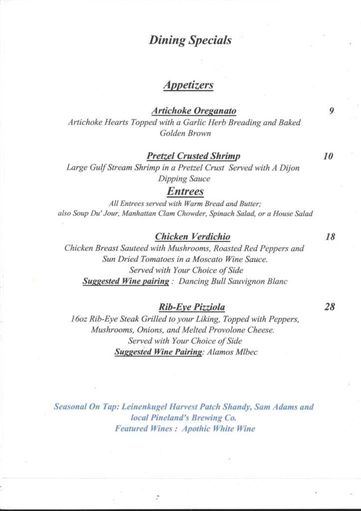 12-8-724x1024 The Grapevine Restaurant in Tuckerton